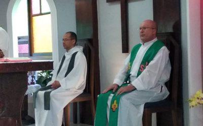 Iniciamos o ano de 2020, com a celebração presidida por Dom José Antonio Peruzzo e Pe. Cassio de Oliveira