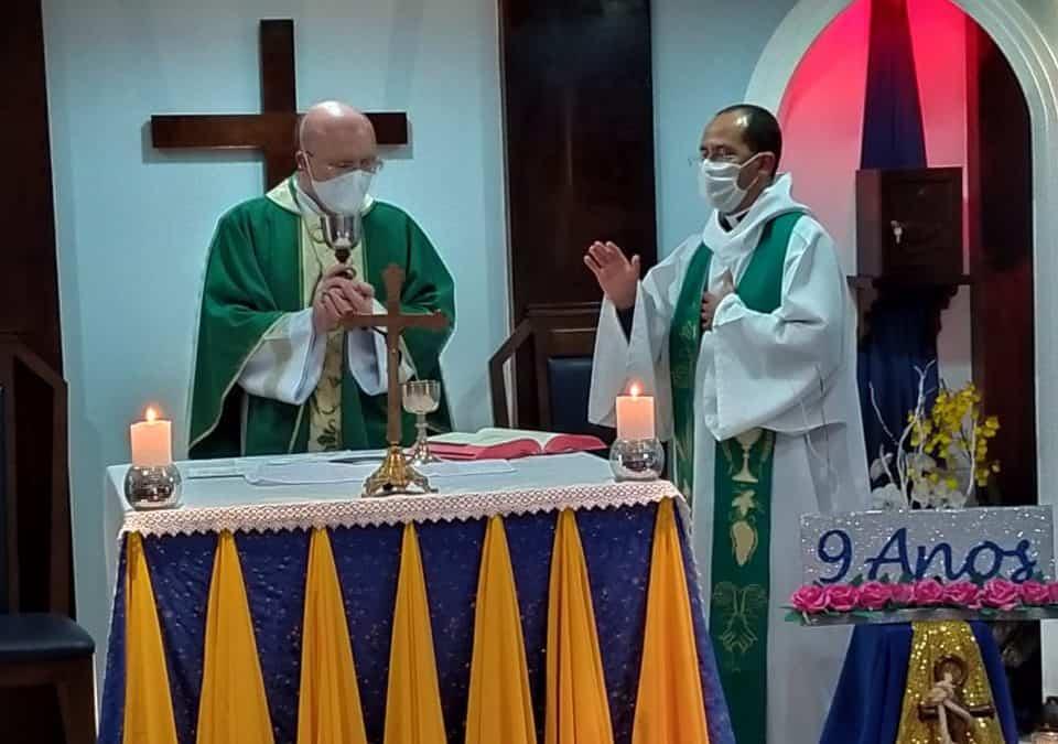 Celebração dos 9 anos do Centro Âncora com Dom José Antônio Peruzzo